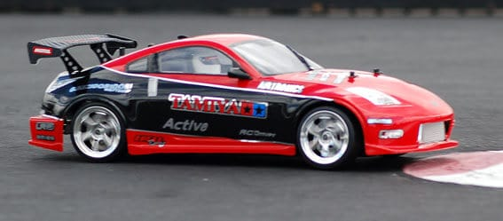 red drift rc car