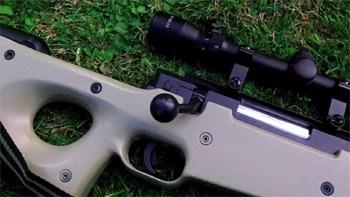 air soft vs real sniper rifle