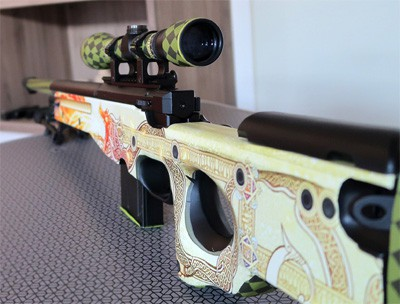 barrel length airsoft rifle